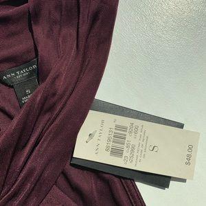Ann Taylor Tops - Ann Taylor twist-neck sleeveless blouse/ halter
